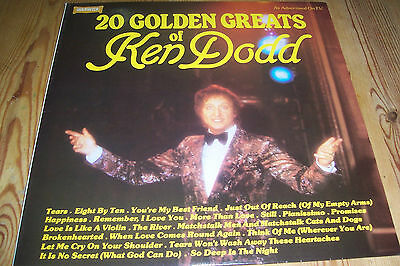 20 Golden Greats Of Ken Dodd - Vinyl Lp - Warwick Ww 5098