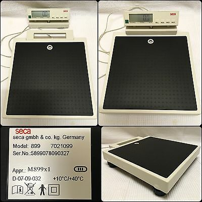SECA Flat Scale 899. High Accuracy. 200kg Max. Cabled Remote Display.
