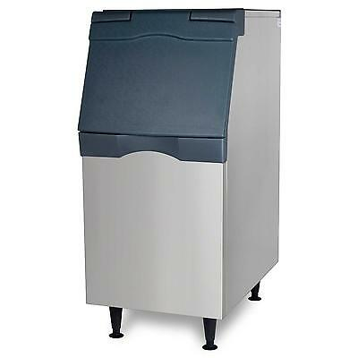 """Scotsman Ice Storage Bin 370Lb Top Hinged 22"""" Stainless Exterior - B322S"""