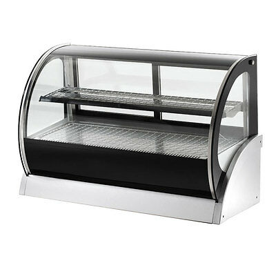 "Vollrath 40852 36"" Refrigerated Countertop Curved Glass Display Case"