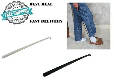 "Long Metal Shoe Boot Horn 31.5"" Heavy Duty Stainless Steel Shoehorn Shoes Boots"