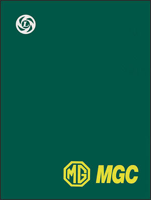 MGC Original Factory Workshop Manual MG88WH NEW