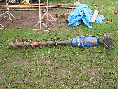 Mini Digger Auger/post Hole Borer/hydraulic Auger.