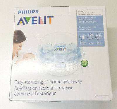 Philips Avent SCF281/05 Express Microwave Steam Baby Bottle Sterilizer