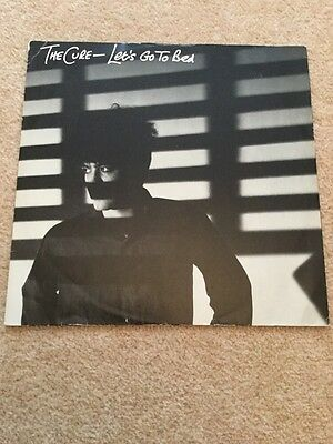 """The Cure Lets Go To Bed 12"""" Vinyl"""