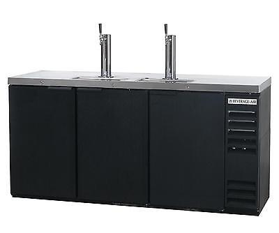 Beverage-Air DD78HC-1-B 34.2 CuFt Four Keg Direct Draw Draft Beer Cooler