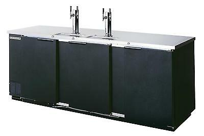 Beverage-Air S/S 5 Keg Capacity Direct Draw Cooler w/ 2 Dual Columns - DD94-1-S
