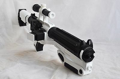 First Order F-11D commander blaster full scale 1:1 from Star Wars props/replica