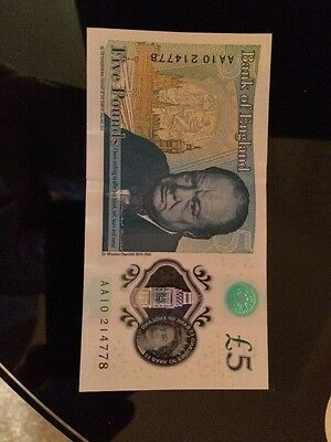 £5 Note AA10
