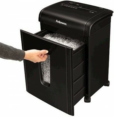 Fellowes PowerShred 62Mc Micro Cut Paper Shredder Cutter with Safety Lock