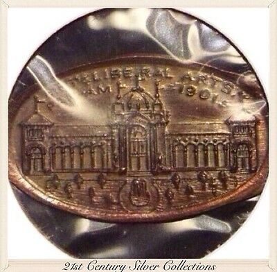 1901 Pan American Exposition Flattened Penny Very RARE