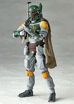 Star Wars REVO Series NO.005 Boba Fett Boxed 16cm PVC Actioin figure Collection