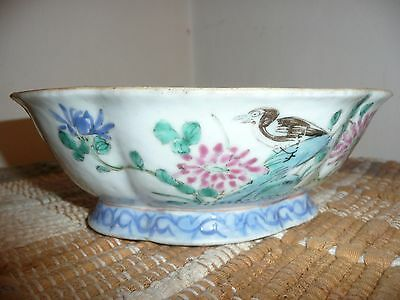Antique/ Vintage Porcelain Hand Painted Chinese bowl