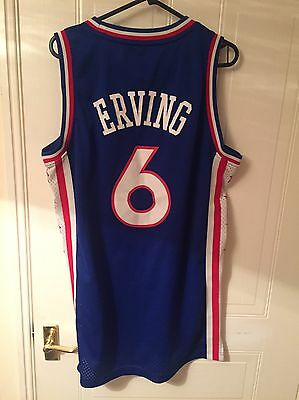 Julius Erving 76ers NBA Jersey