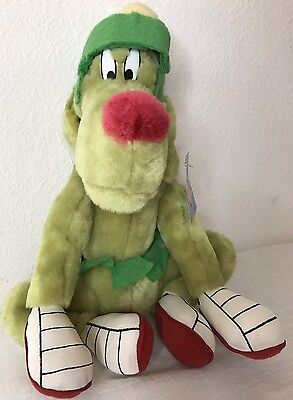 Marvin The Martian Green K-9 K9 Stuffed Plush Puppy Dog Ace Toy Play By Play 12""