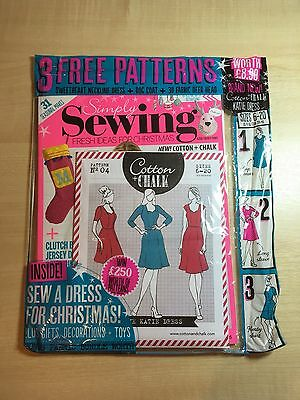 Simply Sewing Magazine Issue 23, new sealed in bag with pattern