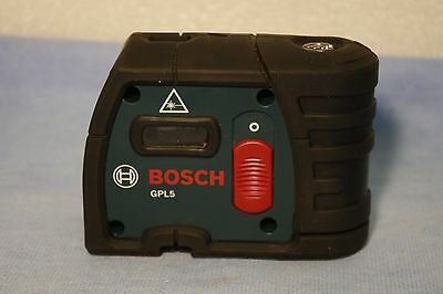 Bosch GPL5  5-Point Self-Leveling Alignment Laser 100ft*