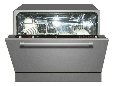 Tisira Compact Stainless Steel Dishwasher (TDW6SS)