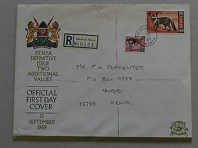 Kenya stamps - first day cover