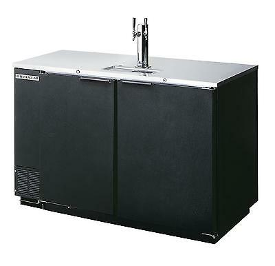Beverage-Air DD50HC-1-B 19.8 CuFt Two Keg Direct Draw Draft Beer Cooler