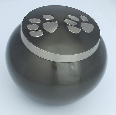 """Pet Urn for Ashes Paw Print 3""""Dog Cat Pet Cremation Funeral Memorial Urn 3 sizes"""