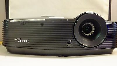 Optoma DAESNZGU DS330 DLP HDMI 3D Projector 167 Lamp Hours Used 3000 Lumens
