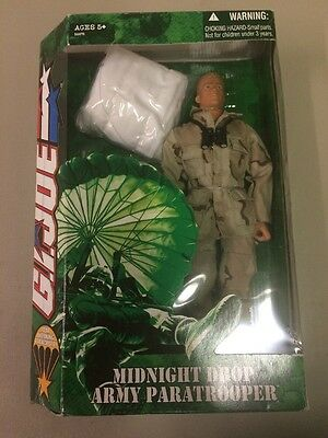 G.I Joe 1/6th Midnight Drop Army Paratrooper Blonde Hair