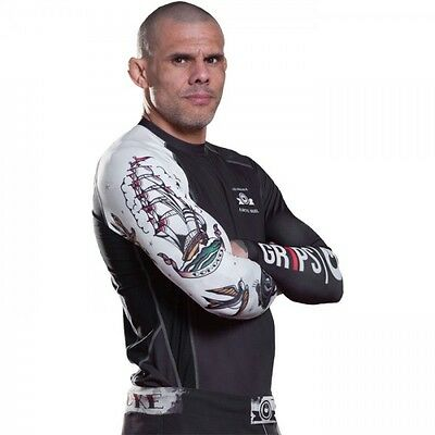 Grips Athletics Arte Suave Bjj Rash Guard Jiu Jitsu Mma Ufc Rashguard Tattoo