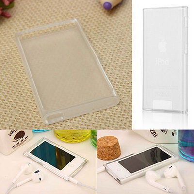 Soft TPU Transparent Case Protective Cover For Apple iPod Nano 7th Gen