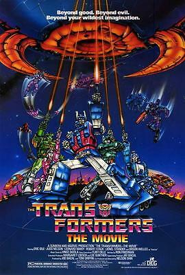 Transformers: The MOVIE POSTER 27 x 40 Orson Welles, Robert Stack, A, LICENSED