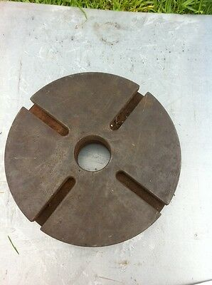 Lathe Face Plate 12 Inch 305mm