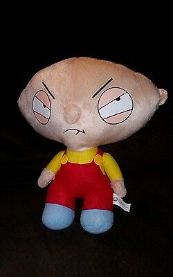 """Family Guy  12"""" Stewie Griffin Plush Toy Doll Figure By Nanco"""