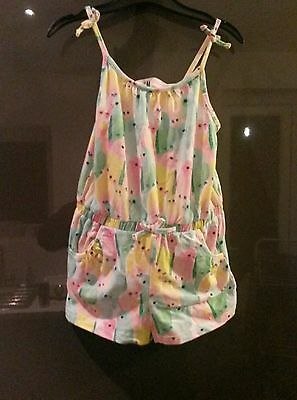 Girls H&M Playsuit age 2-4 Years.