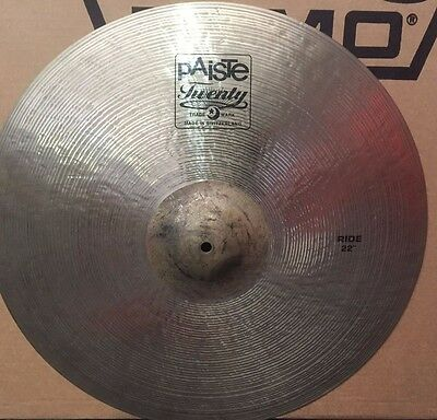 "Paiste 22"" Twenty Series Ride Cymbal"