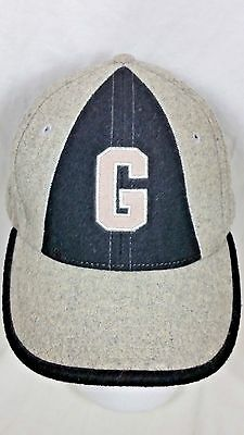 Negro League Baseball Classics Museum Wool Cap Hat Gray Embroidered Size 7 1/8