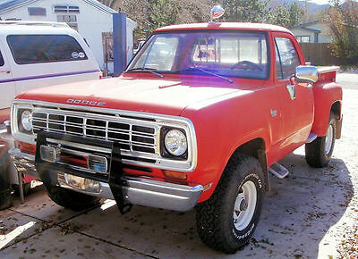 1973 Dodge Power Wagon  1973 Dodge 4x4 Custom Power Wagon 73000 Original Miles