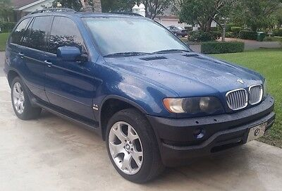 2002 BMW X5 4.4i Sport Utility 4-Door 114,507 Miles   2002 BMW X5 4.4L V8 AWD Loaded DVD Player-No Reserve-CLEAN Title