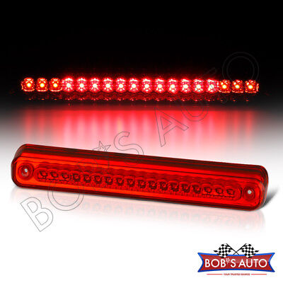 Full LED Red Roof Stop Lamp Third Brake Cargo Light Sierra Chevy Silverado 88-98