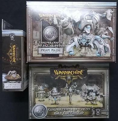 Warmachine Convergence of Cyriss, 3 Sets New and Sealed.