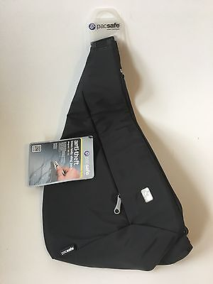 Pacsafe Slingsafe 150 GII RFID anti-theft travel cross body sling pack, NWT