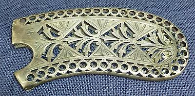 ANTIQUE Sterling Comb?? Holder, Age?? Who Made??, Repurpose into Jewelry