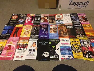 Lot of 15 Different Broadway Show Ads