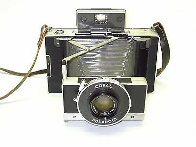 Cool Polaroid 180 Camera Conversion w/Copal Shutter & Rodenstock 127mm f4.7 lens