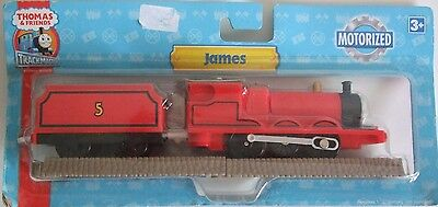 * Thomas & Friends Trackmaster Railway Motorized James Train HIT Toys  *