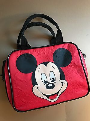 Vintage Disney Mickey Mouse Lunch Box With Thermos