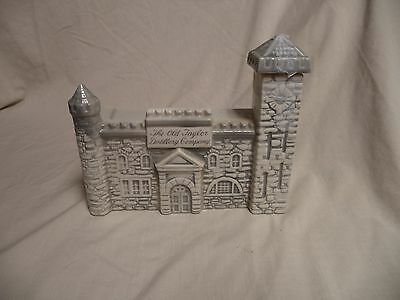 Old Taylor Distillery Replica Decanter Castle  (empty) Kentucky Straight Whiskey