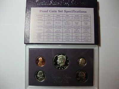 1987 US PROOF Set ~ Includes 5 COINS  Kennedy Half ~ GEM CAMEO from Vault    2/2