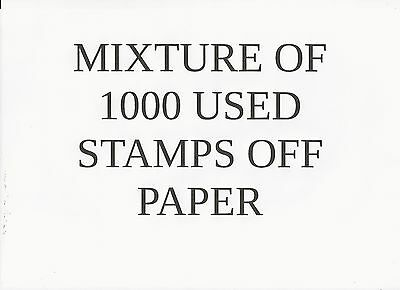 Australia - Collection Builder - Mixture Of 1000 Used Stamps