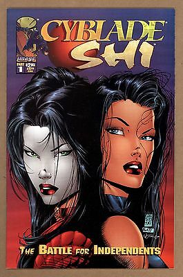 Cyblade/Shi 1 NM+ 9.6 1st Appearance Of Witchblade Image Comics 1995