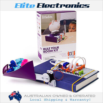 Littlebits Rule Your Room Kit Set Kids Family Diy Electronics Building Project